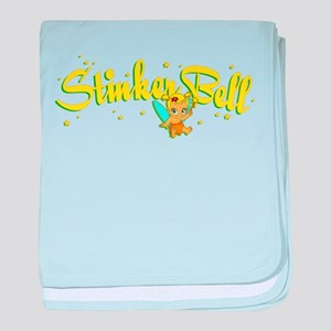 Stinkerbell baby blanket
