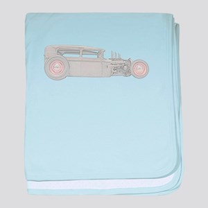 1930 Ford Rat Rod baby blanket