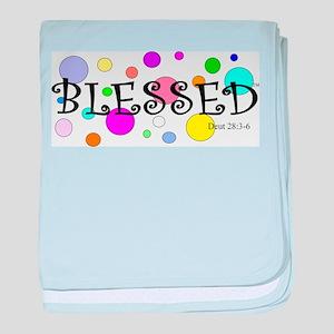 Blessed baby blanket