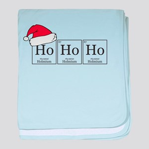 Ho Ho Ho [Chemical Elements] baby blanket