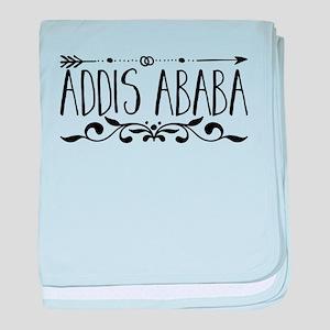 Addis Ababa baby blanket