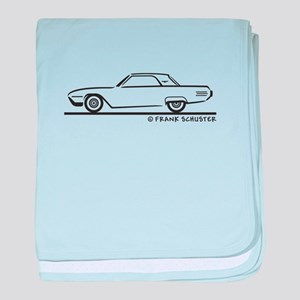 1961 Ford Thunderbird Hard To baby blanket