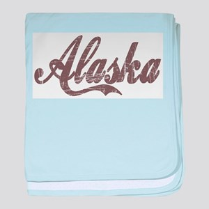 Vintage Alaska baby blanket