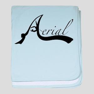 Aerial Logo 1 baby blanket
