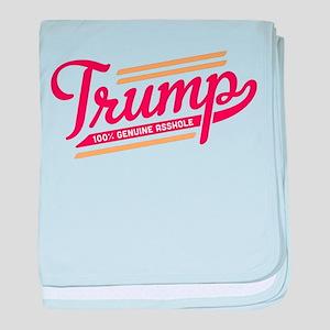 Trump Genuine Asshole baby blanket