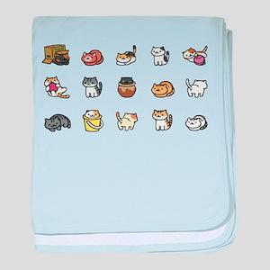 Neko Atsume baby blanket