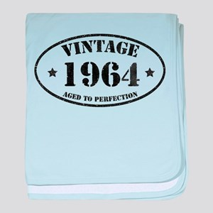 Vintage Aged to Perfection 50 baby blanket