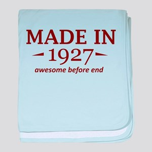 Made in 1927 baby blanket