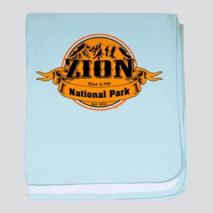 Zion Utah baby blanket