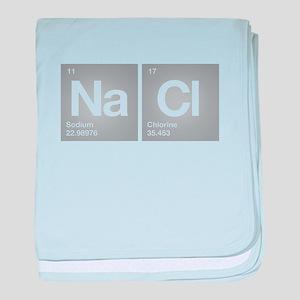 NACL Sodium Chloride Don't forget Salt baby blanke