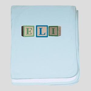 Eli Alphabet Block baby blanket