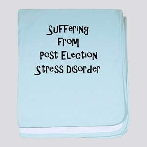 Post Election Stress Disorder baby blanket