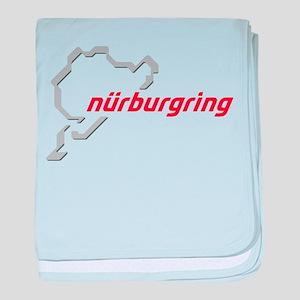 nurburgring map real baby blanket