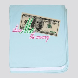Show Me the Money baby blanket