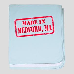 MADE IN MEDFORD, MA baby blanket