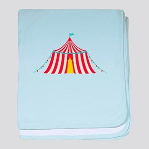 Circus Tent baby blanket