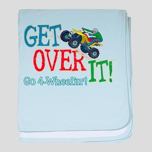 Get Over It - 4 Wheeling Infant Blanket