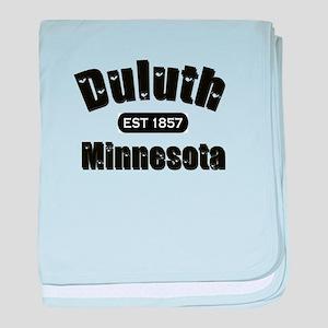 Duluth Established 1857 baby blanket