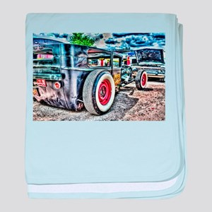 Rat rod baby blanket