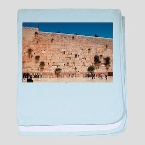 Western Wall (Kotel), Jerusalem, Israel baby blank