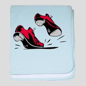 Tap Dancing Shoes baby blanket