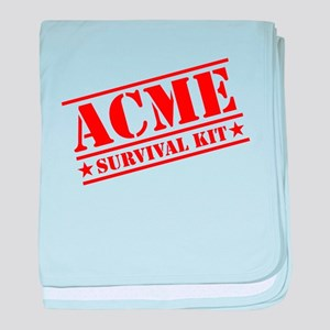 ACME Survival Kit baby blanket