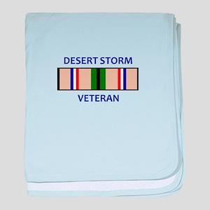 DESERT STORM VETERAN baby blanket