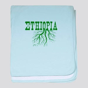 Ethiopia Roots baby blanket
