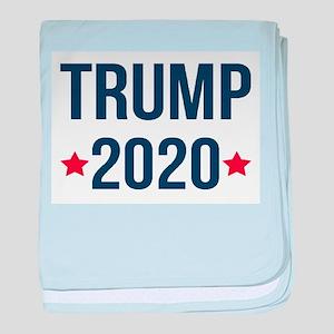 Trump 2020 baby blanket