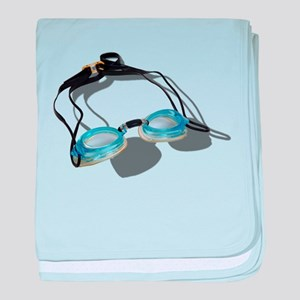 Swimming Goggles Infant Blanket