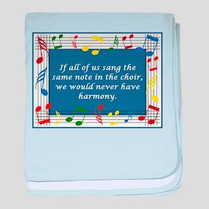 Harmony baby blanket