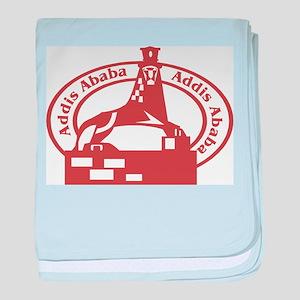 Addis Ababa Passport Stamp Infant Blanket