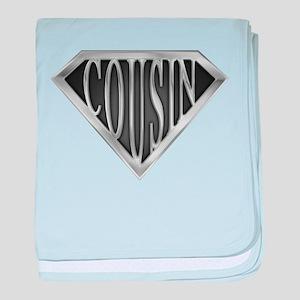 SuperCousin(metal) baby blanket