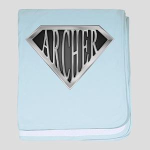SuperArcher(metal) baby blanket
