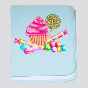 Wonderland Sweets baby blanket
