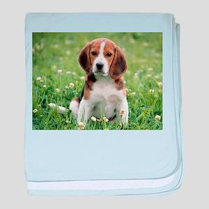 Beagle baby blanket