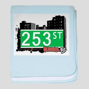 253 STREET, QUEENS, NYC baby blanket