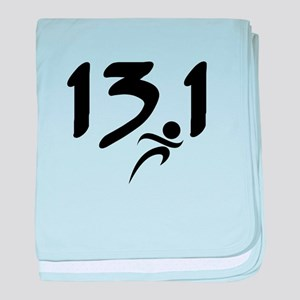 13.1 run baby blanket