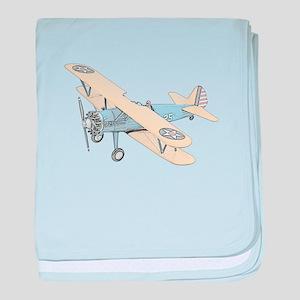 Stearman PT-17 Bi-Plane baby blanket