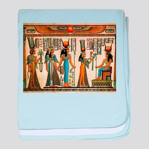 Ancient Egyptian Wall Tapestry baby blanket