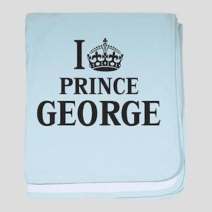 I Crown Prince George baby blanket