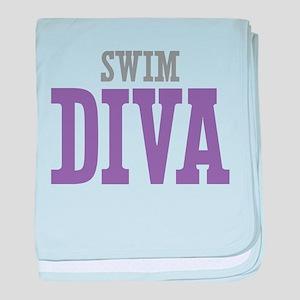 Swim DIVA baby blanket