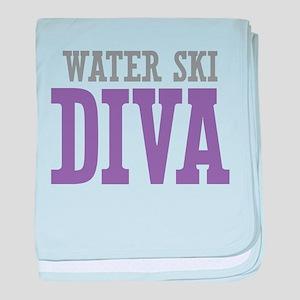 Water Ski DIVA baby blanket