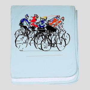 Tour de France baby blanket