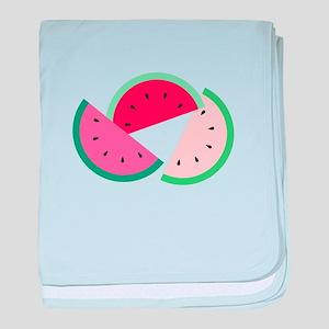 Watermelon Slices baby blanket