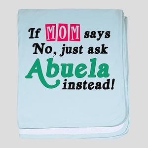 Just Ask Abuela! baby blanket