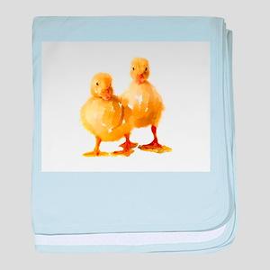 Ducklings baby blanket