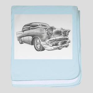 Vintage Chevy baby blanket