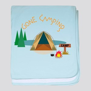 Gone Camping baby blanket