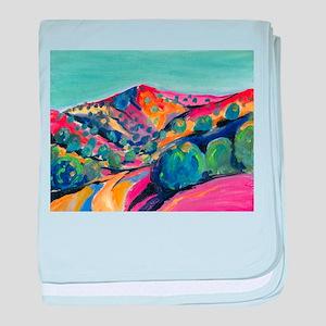 New Mexico Art baby blanket